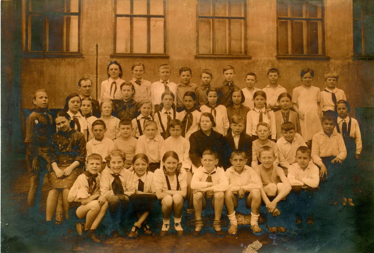 Фото советская школа интернат дети