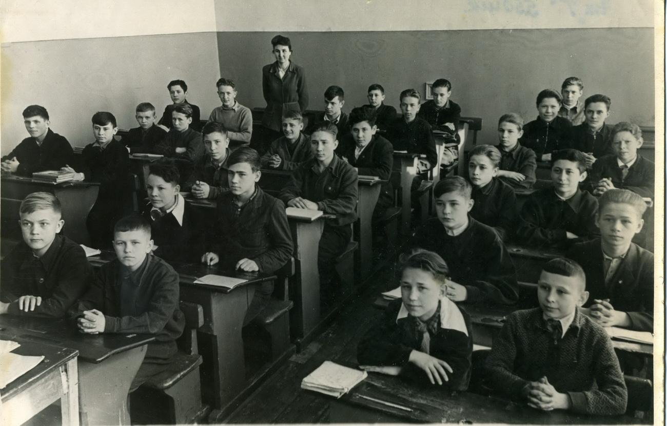 Ленинградская фармацевтическая школа 1951г фотоархив